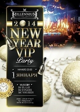 New Year VIP party