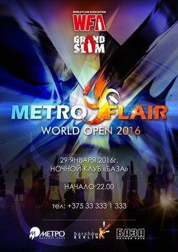 Metro flair World open 2016