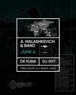 A.Malashkevich & Band, De Kuba, Dj 007