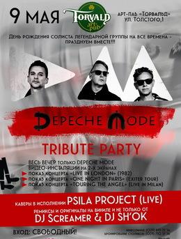 Depeche Mode Tribute Party