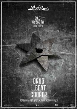 L.Beat & Cooper & Drug