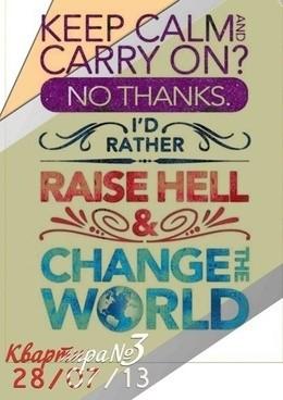 Change the World!