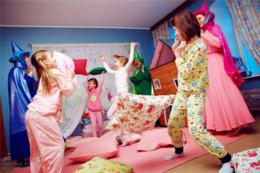 Улетная пижамная вечеринка