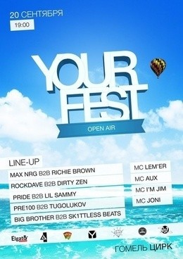Open air Your fest