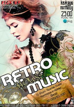 Retro house music