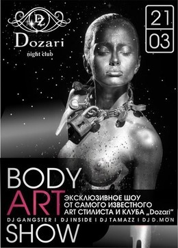 Fashion Body Art show