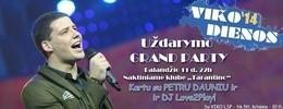 «VIKO dienų» 2014 uždarymo Grand Party