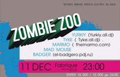 Zombie Zoo Party