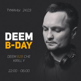 Deem B-Day