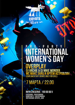 Pre-party International Women's Day