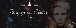Studio 2015: Новый год с Гедре