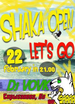 Shaka open