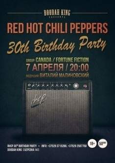 Red Hot Chili Peppers 30th Birthday Party