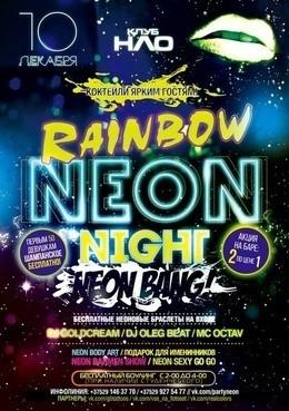 Rainbow Neon Night