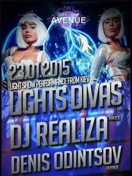 Light Show Performance from Kiev «Light Divas»