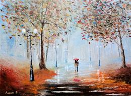 Мастер-класс «Осенний пейзаж»