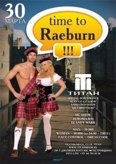 Time to Raeburn
