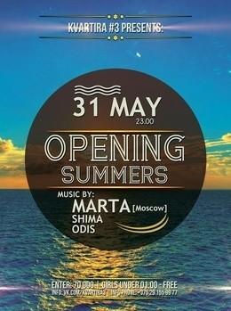 Opening Summers (DJ Marta)