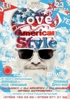 Пенная вечеринка: Американский пирог.I Love American Style