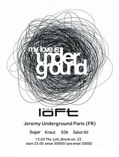 My Love Is Underground Party