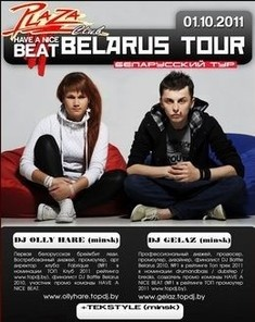 Have a nice beat  Belarus tour