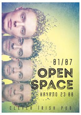 Концерт группы Open Space в пабе «Clever Irish Pub»