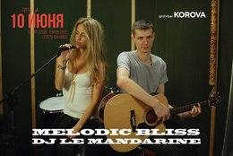 Выступление дуэта Melodic Bliss и DJ Le Mandarine