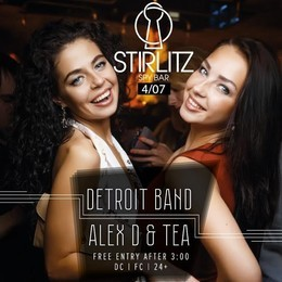 Detroit Band & Alex D &Tea