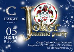 Joker mania party