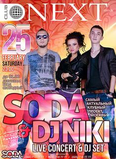 SODA & dj Niki (Live Concert & dj set)