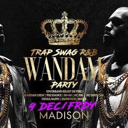 Вечеринки Wandam 9 декабря, пт