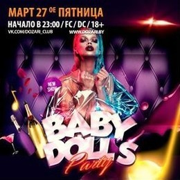 Baby dolls party