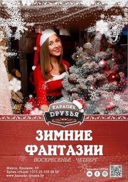 Вечеринки Зимние фантазии До 31 января