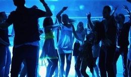 Ночная дискотека в клубе «Зебра»