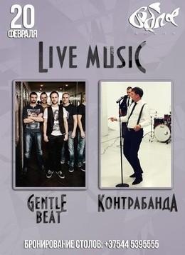 Концерт групп Gentle Beat и Контрабанда