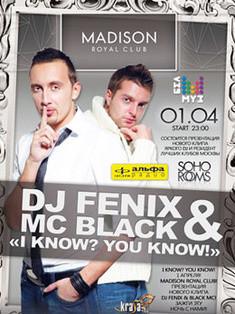 Dj Fenix & MC Black