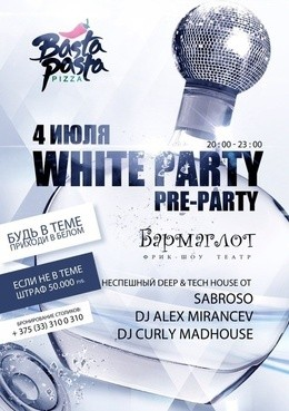 White party Pre-Party