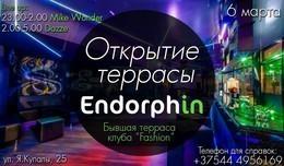 Открытие террасы Endorphin