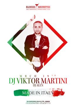 Made in Italy: DJ Victor Martini