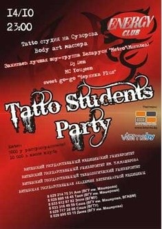 Tatto Students Party