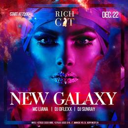 Вечеринки New Galaxy 22 декабря, сб