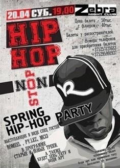 Spring Hip-hop party