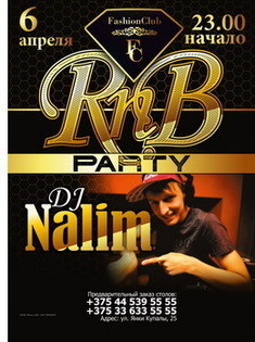 Dj Nalim RNB party