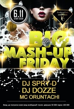 Big Mash-up Friday