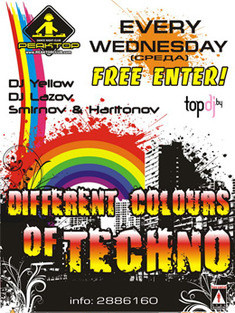 Different Colors of Techno