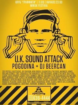 U.K. Sound Attack: Pogodina + Dj Beercan