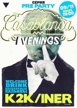 Casablanca evening