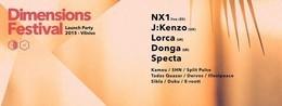 Dimensions Festival 2015 Vilnius Launch Party