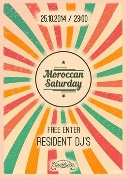 Maroccan Saturday