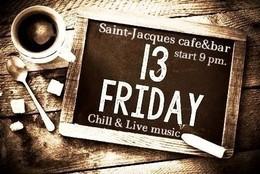 Вечеринка в кафе-баре «Saint Jaсques»